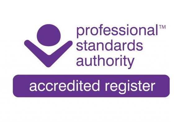 Professional standard authority accredited register logo with a link that leads to https://www.fht.org.uk/search-register